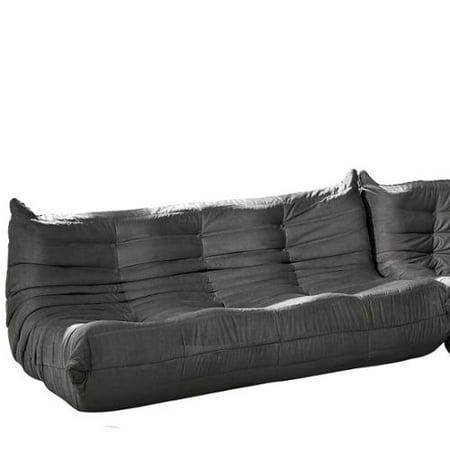 Modway Waverunner Modular Light Grey Sectional Sofa