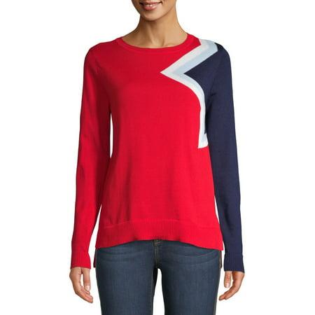 EV1 from Ellen DeGeneres Women's Bright Star Sweater ()