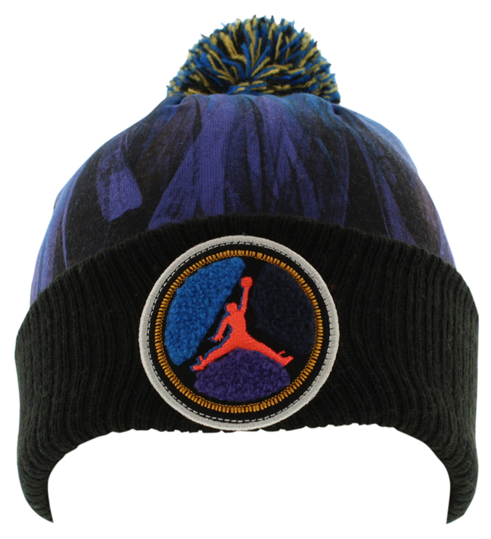Nike Boys Retro 8 Beanie Hat Black One Size