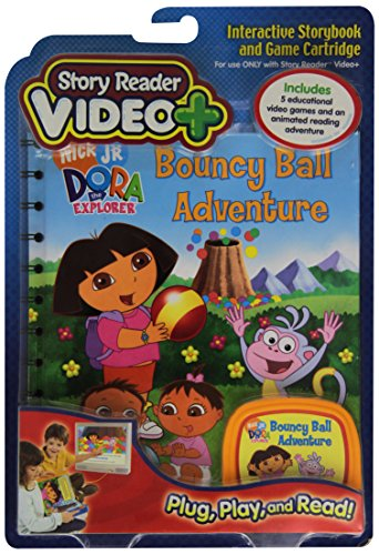 Story Reader Video Plus Dora Bouncy Ball Adventure by PUBLICATIONS INTERNATIONAL LTD