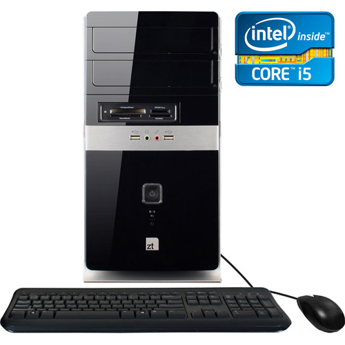 ZT Systems 7645Mi Desktop PC with Intel Core i5-2320 Processor, 16GB Memory, 2TB Hard Drive and Windows 7 Home Premium  with Windows 8 Pro Upgrade Option