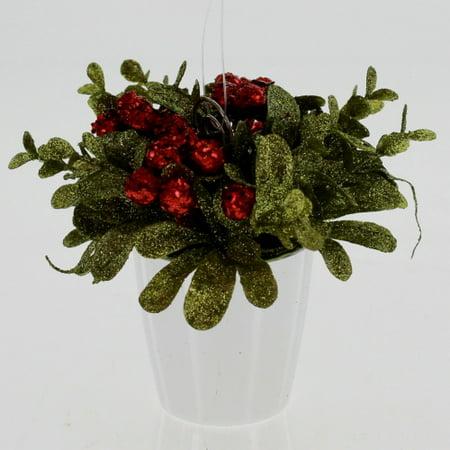 Mistletoe Pot With Card Holder Walmartcom