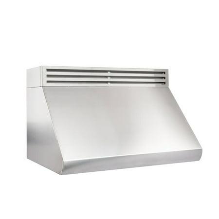 ZLINE Kitchen and Bath ZLINE 36 in. 1000 CFM Recirculating Under Cabinet Range Hood in Stainless Steel (Best Recirculating Cooker Hood)