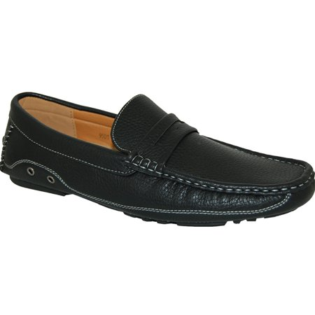 KRAZY SHOE ARTISTS Black Panther Mens Penny Loafer