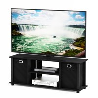 Furinno Econ Entertainment Center with Storage Bins, Multiple Colors