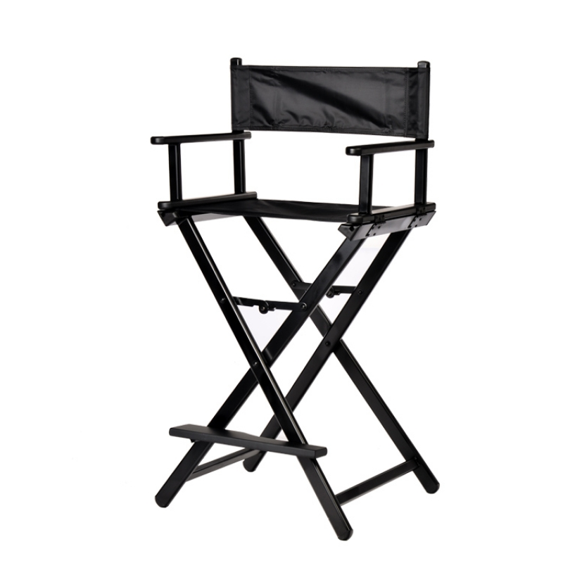 Professional Makeup Artist Directors Chair Wood Light Weight Foldable