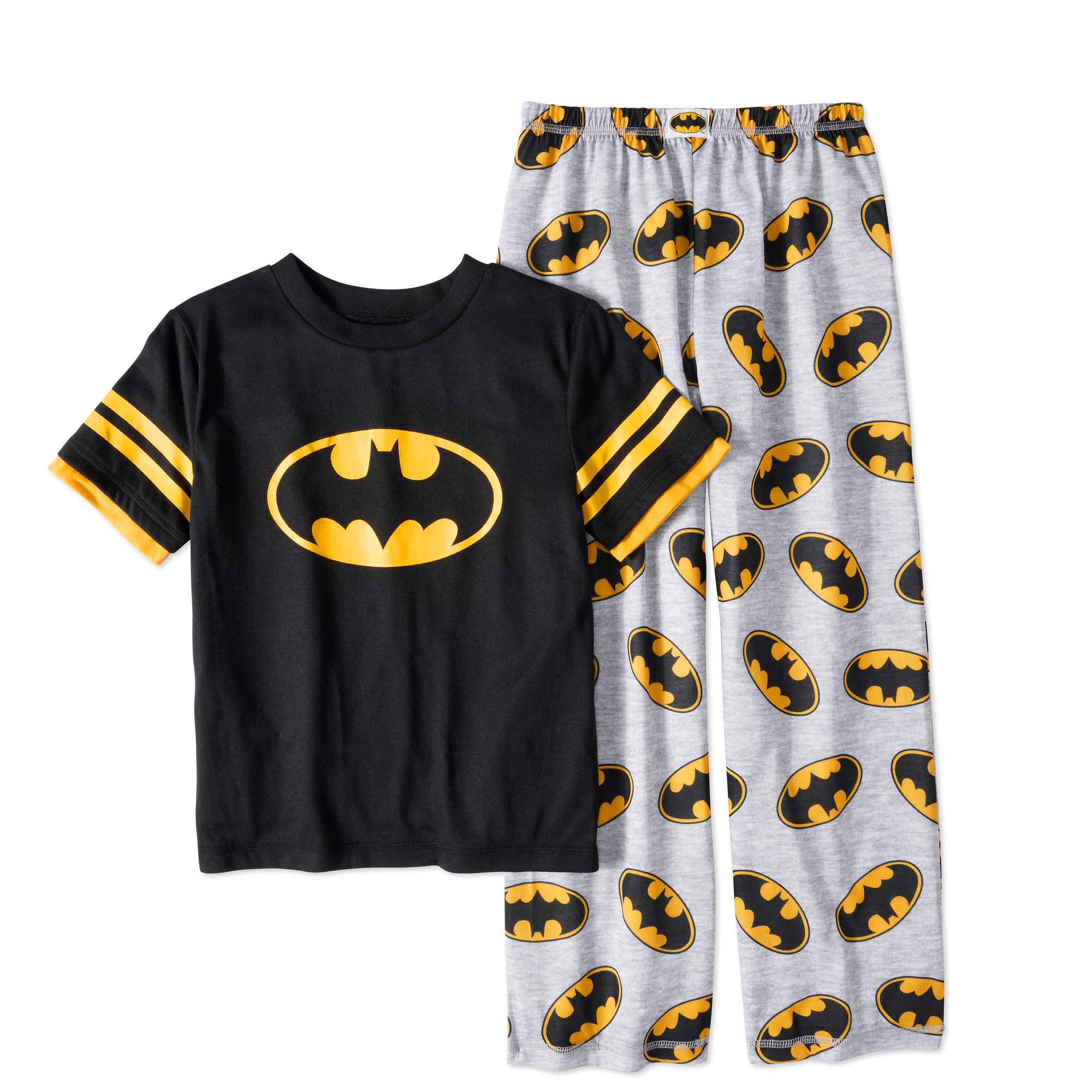 Batman Boys' Logo 2 Piece Pajama Set by Generic