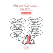 Petit Livre - On ne dit pas mais on dit - eBook