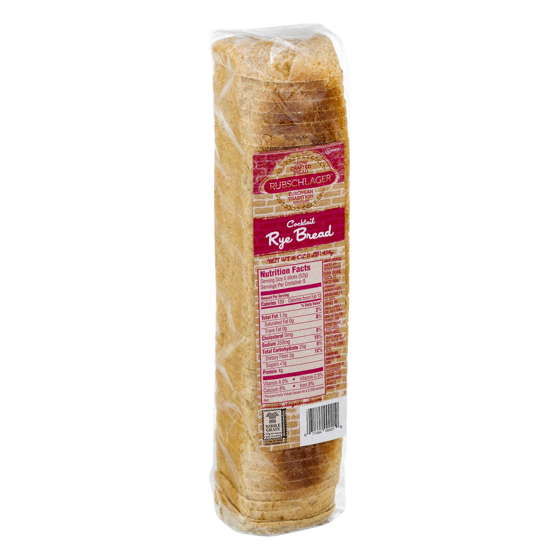 Rubschlager Baking Rubschlager Bread, 1 lb - Walmart com