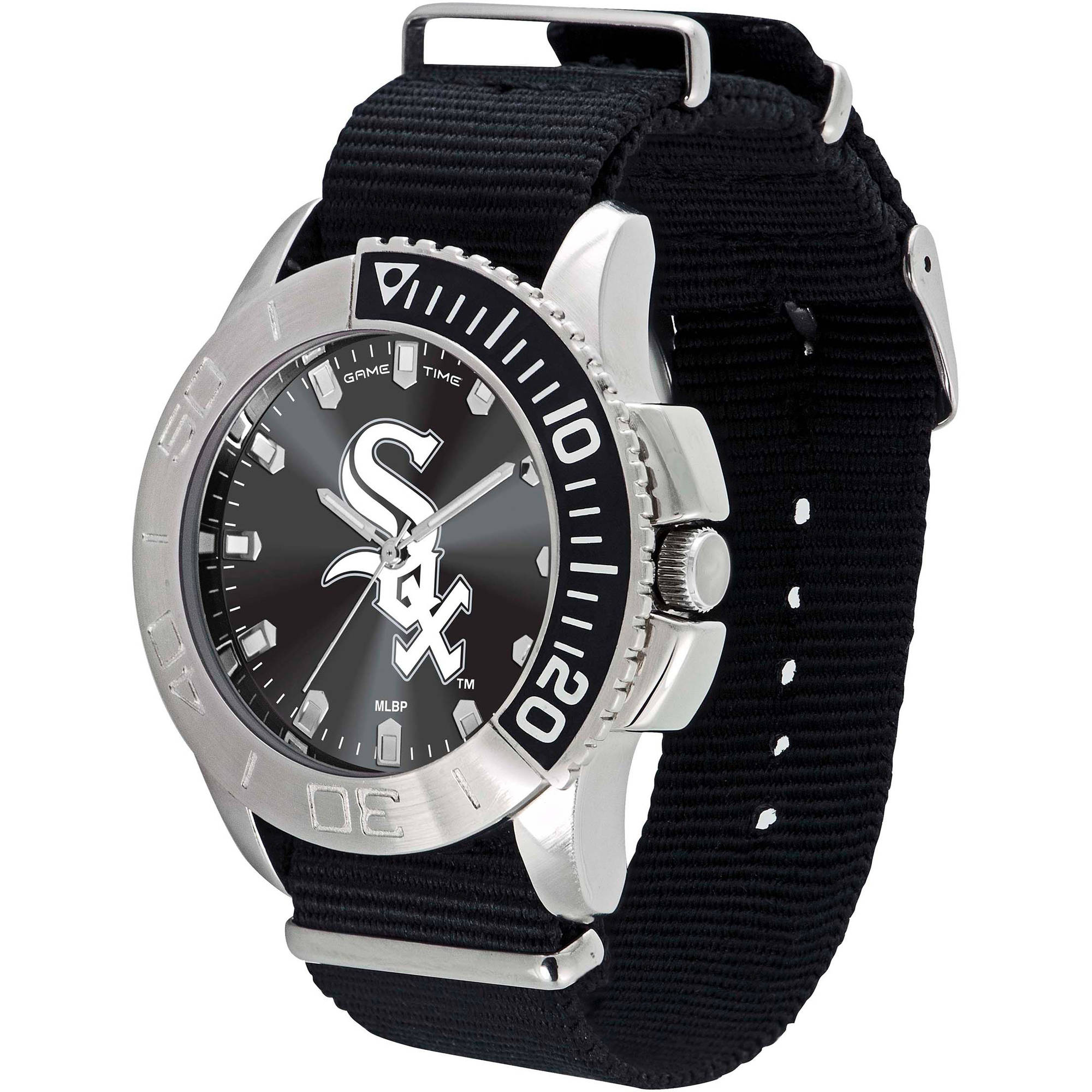 Game Time MLB Men's Chicago White Sox Starter Series Watch