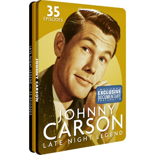 Johnny Carson: Late Night Legend (Collector's Tin) by DIGITAL ONE STOP