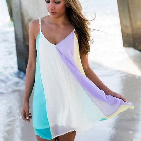 Beach Wear Womens Beachwear Swimwear Bikini Cover Up Kaftan Ladies Summer Dress