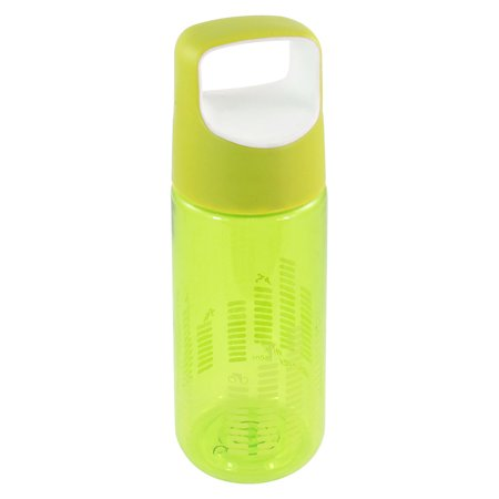 Unique Bargains Detachable Green Plastic Lid Tea Water Container Drink Bottle Cup 550ml