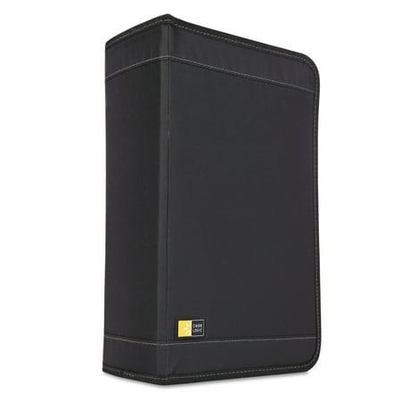 Case Logic CD/DVD Wallet, Holds 136 Discs, Black