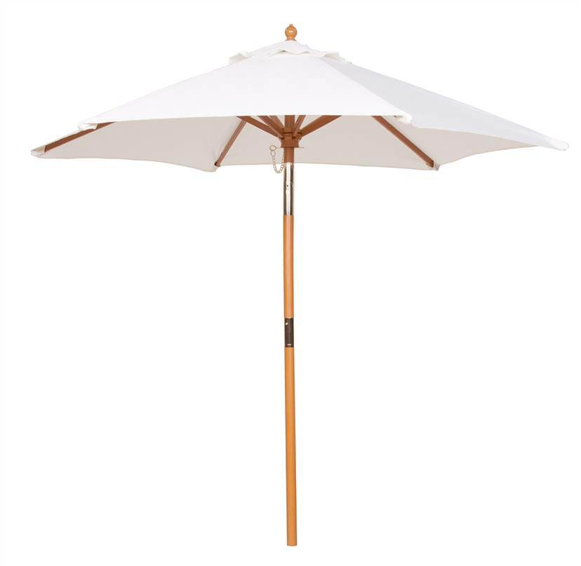 6 Foot Market Umbrella in Natural