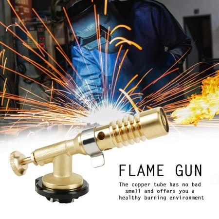 Garosa Professional Portable Brass Kitchen Cooking Gas Butane Culinary  Torch Welding BBQ Flame Gun Gas Torch Camping Gas Torch | Walmart Canada