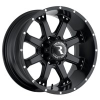 "16"" Inch Raceline 991B Assault 16x8 5x4.5"" +0mm Matte Black Wheel Rim"