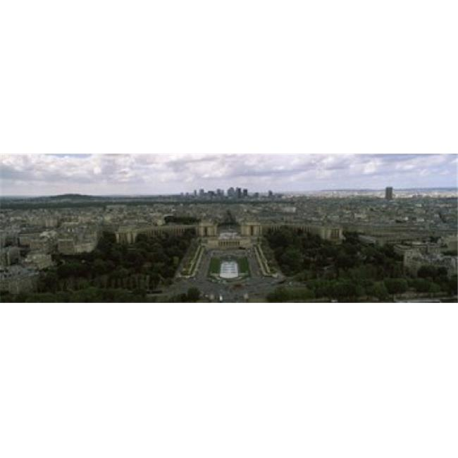 Panoramic Images PPI113495L Cityscape viewed from the Eiffel Tower  Paris  Ile-de-France  France Poster Print by Panoramic Images - 36 x 12 - image 1 of 1