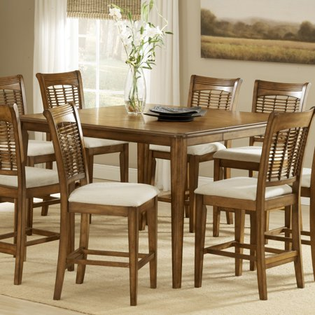 Hillsdale Bayberry Gathering Dining Table with Leaf, Oak Finish