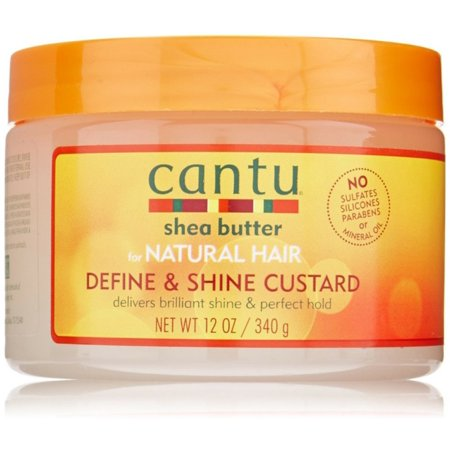 Cantu Shea Butter For Natural Define   Shine Custard 12 Oz  Jar