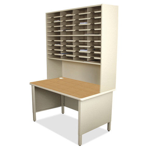 Marvel Office Furniture 40 Compartment Mailroom Organizer