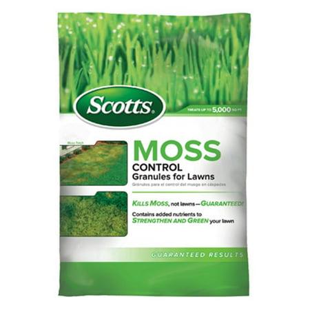 Moss Killer (Scotts Moss Control Granules - 5,000 Sq)