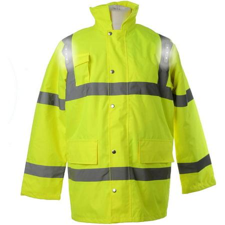- LED Workwear Hi-Vis Parka