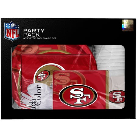 San Francisco 49ers Gameday Party Pack - No Size](W San Francisco Halloween Party)