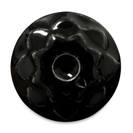 Amaco Celadon Glazes - Obsidian, Pint (Celadon Crackle Glaze)