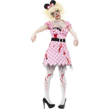 Zombie Mouse Adult Costume](Adult Mouse Costume)