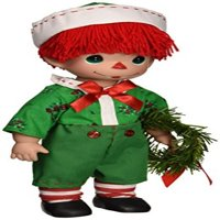 The Doll Maker Raggedy Wishes Baby Doll, Boy, 12""