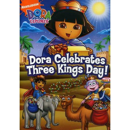 Dora Clebrates Three Kings Day! (DVD) Three Kings Wisemen