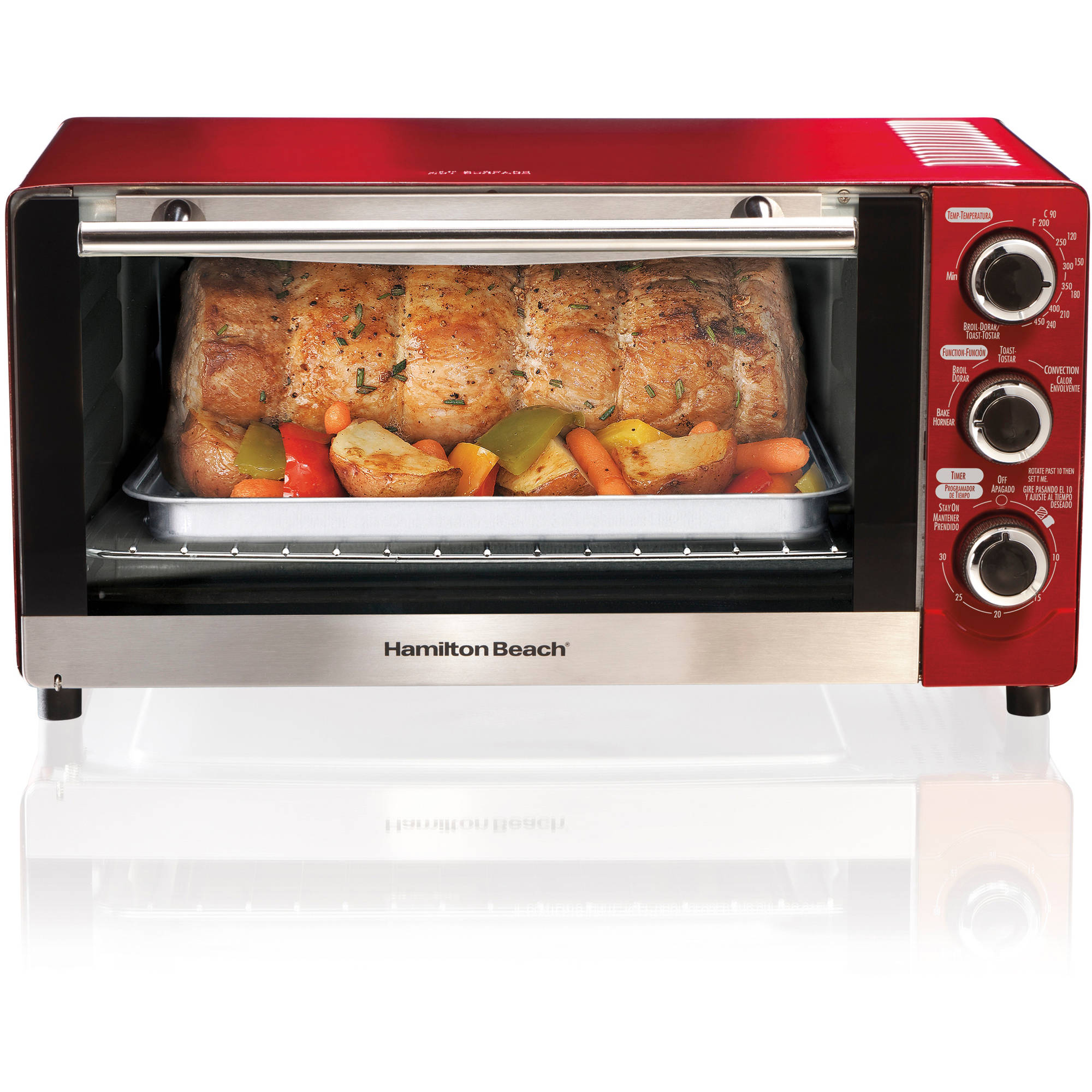Hamilton Beach 6 Slice Convection Toaster & Broiler Oven | Model# 31806-MX