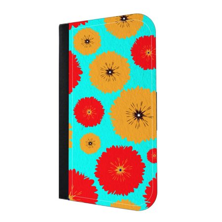 Scattered Flowers Wallet Phone Case for the iPhone XS Max - 10 XS Max iPhone Wallet Case - iPhone XS Max Wallet Case