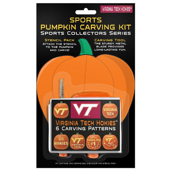 Virginia Tech Hokies Pumpkin Carving Kit