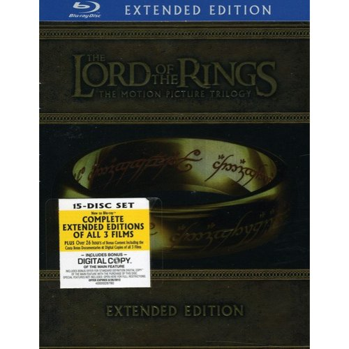 The Lord of the Rings Trilogy [Ws] [Extended Edition] [15 Discs] [Blu-ray] [Blu-ray]