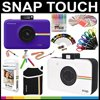 Polaroid Snap Touch Instant Camera Gift Bundle+ ZINK Paper (30 Sheets) + Snap Themed Scrapbook + Pouch + 6 Edged Scissors + 100 Sticker Border Frames + Gel Pens + Hanging Frames + Accessories Polaroid Snap Touch Instant Camera Gift Bundle+ ZINK Paper (30 Sheets) + Snap Themed Scrapbook + Pouch + 6 Edged Scissors + 100 Sticker Border Frames + Gel Pens + Hanging Frames + Accessories
