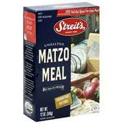Streit's Unsalted Matzo Meal, 12 oz, (Pack of 18)
