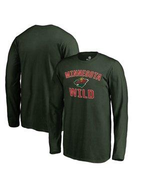 Minnesota Wild Fanatics Branded Youth Victory Arch Long Sleeve T-Shirt - Green