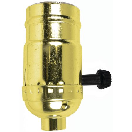Jandorf Specialty Hardw Socket Turn Knob 3 Way Brass 60409