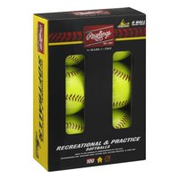 Rawlings NCAA 11 inch Branded Recreational Fastpitch Ball - Box of 6
