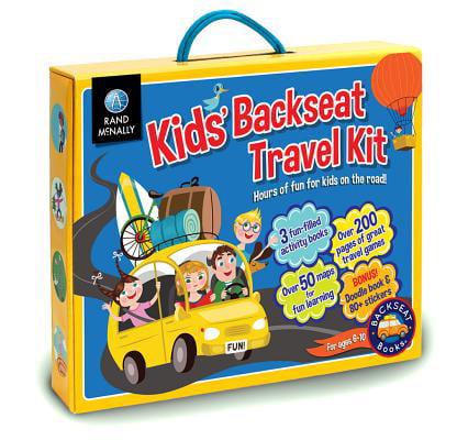 Kids' Backseat Travel Kit (Paperback)