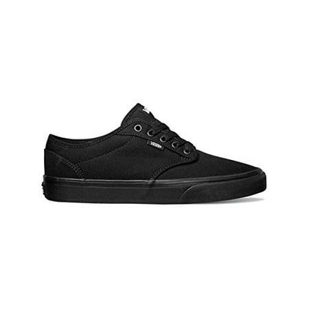 c1b9b9630abb Vans - Vans Men s VANS ATWOOD (CANVAS) SKATE SHOES 10.5 Men US  (BLACK BLACK) - Walmart.com