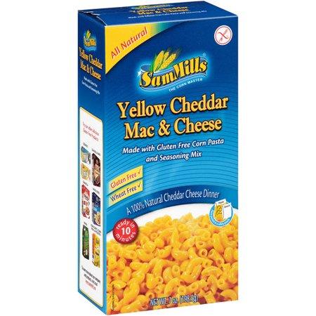 Sam Mills Gluten Free Yellow Cheddar Mac   Cheese  7 Oz