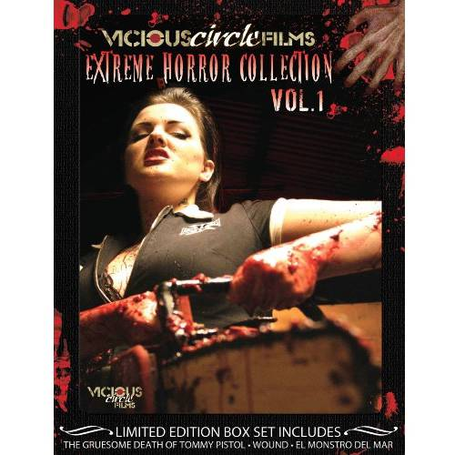 Extreme Horror Collection, Vol. 1 - Wound / The Gruesome Death Of Tommy Pistol / El Monstro Del Mar