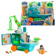 PJ Masks Romeo's Flying Factory Playset with Lights, Sounds, and Secret Compartment