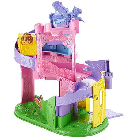 Fisher-Price Little People Disney Princess, Wheelies Playset Doll (Fisher Price Little People Marvel)