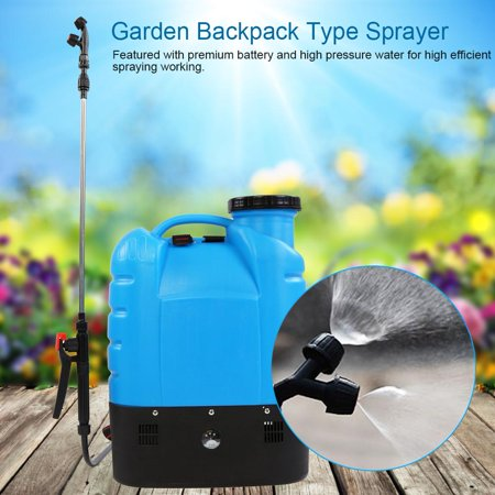 Hilitand 16L Electric Backpack Type Agricultural High Pressure Sprayer  Gardening Tool 110V US Plug, Electric Spraying Pump, Garden Spray Pressure