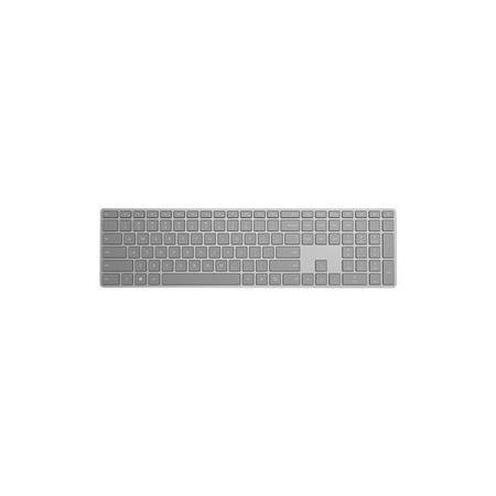 Microsoft Modern Keyboard with Fingerprint ID - Keyboard - wireless - USB, Bluetooth 4.0 - English (Best Microsoft Usbs)