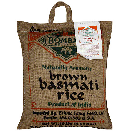 Bombay Original Brown Basmati Rice, 10 lb (Pack of 1)